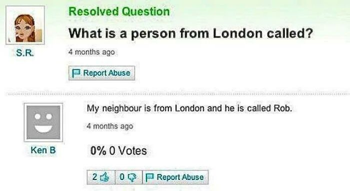 Residents Of London
