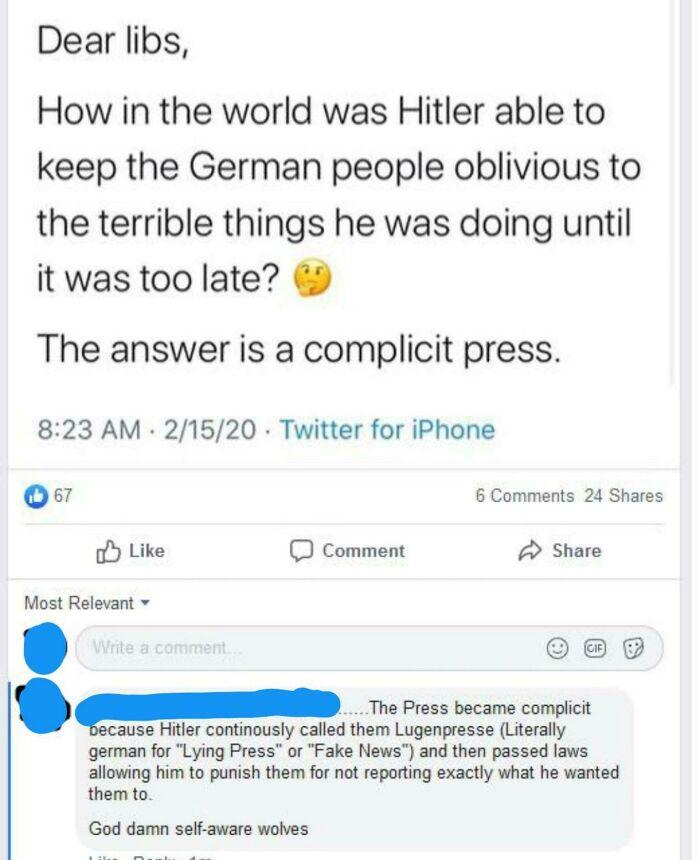 Fascists Calling Others Fascists