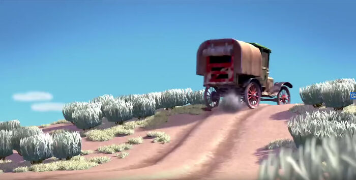 In The Pixar Short Boundin' (2003), A Model T Is Seen Driving Up A Hill Backwards. This Is Because Model T's Relied On Gravity To Supply Their Engine With Fuel, And Driving Up A Steep Hill Could Cause The Engine To Stall. The Solution, If You Had To Drive Up A Steep Hill, Was To Drive Up In Reverse
