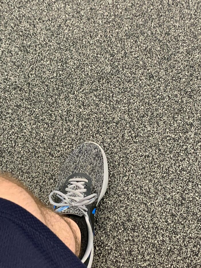My Sneaker Matches My Gyms Floor
