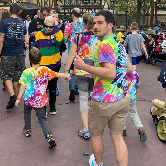 My Husband Found A New Family At Disney