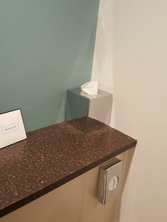 This Mirrored Tissue Box