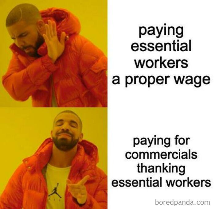 Haha Commercial Money Go Brrr