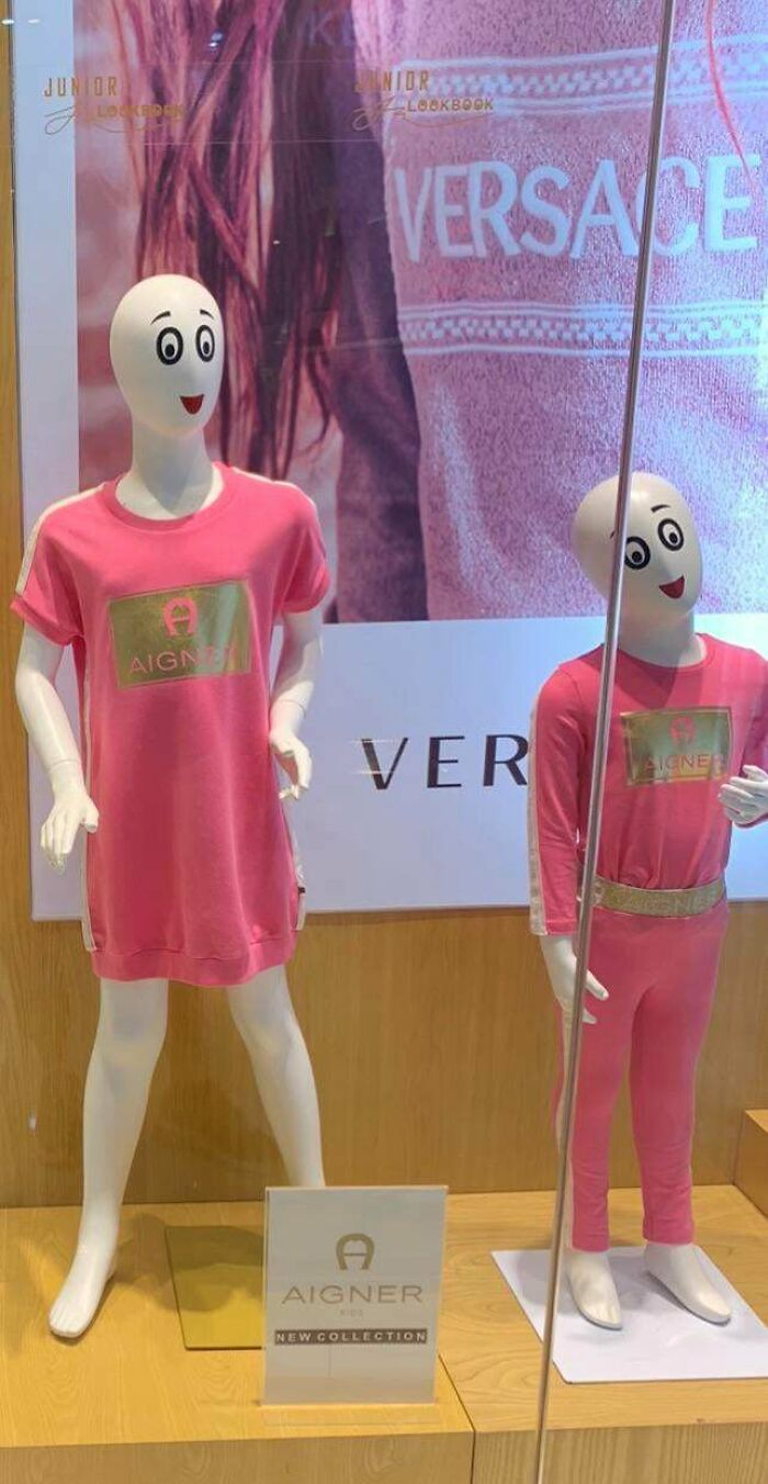 These Mannequin Faces That Look Like They Want To K*ll You