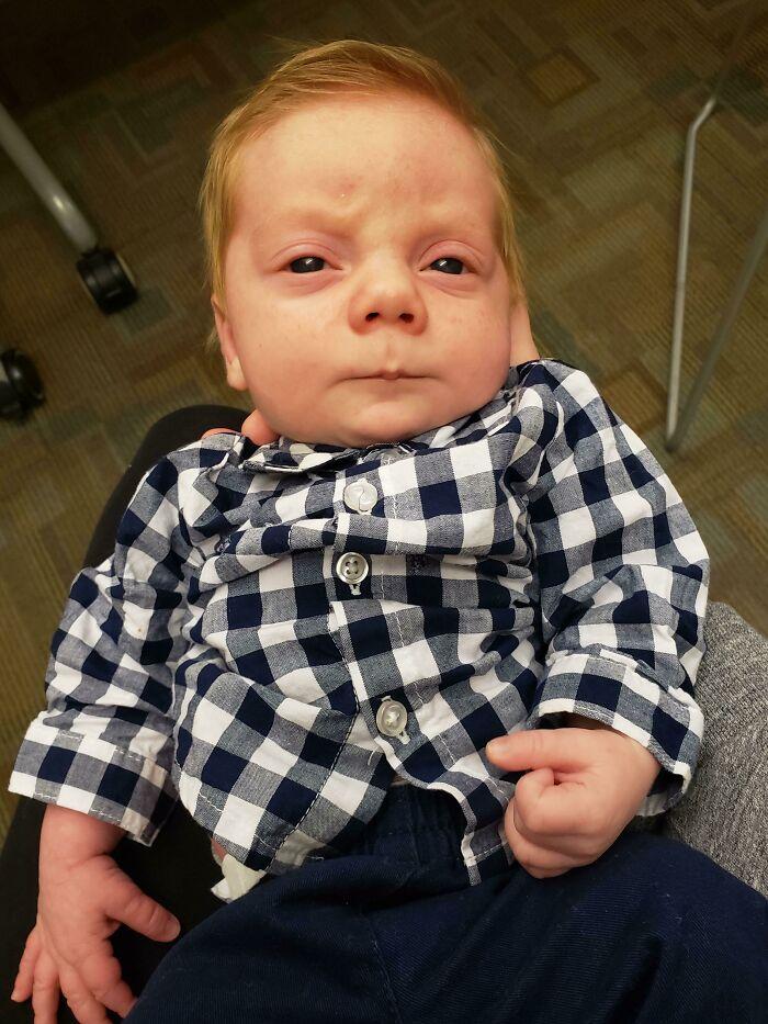 Tiny Ron Swanson