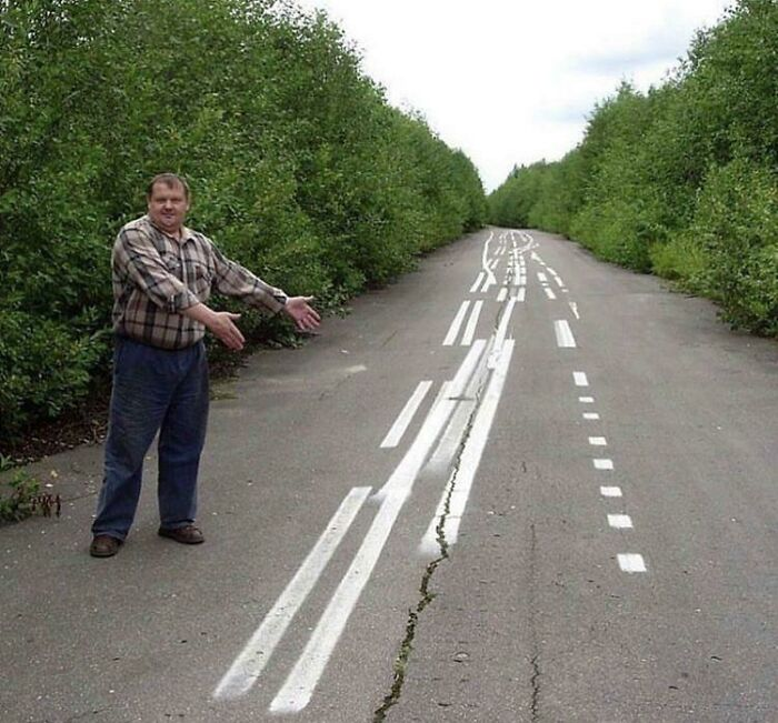 Straight Lines Painted Boss!