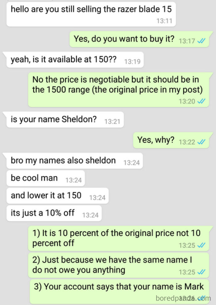 Everyone Named Sheldon Gets A Free Laptop
