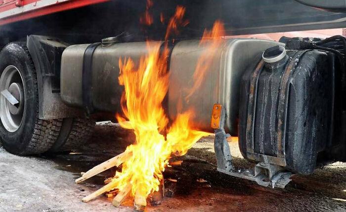 Warming Up Some Gelled Diesel