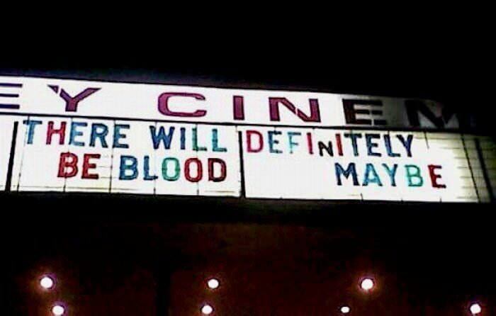 Will There Be Blood Or Not!?