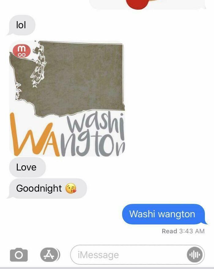 The State Of Washi Wangton