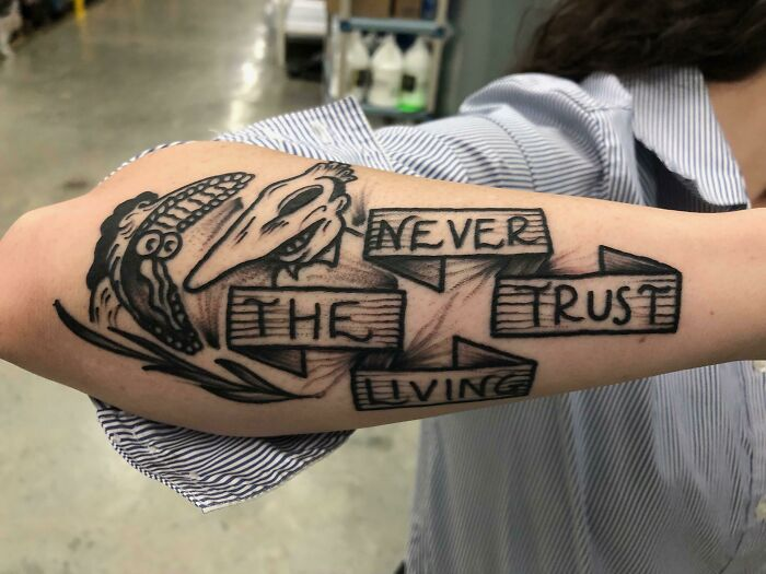 Friend Of A Friend Got A New Tattoo