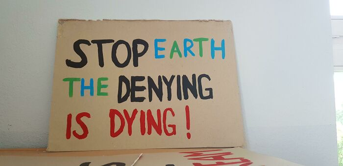 Stop Earth The Denying Is Dying!
