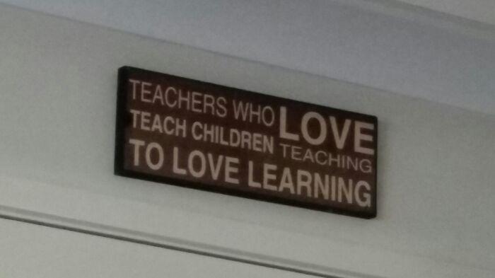 Teachers Who Love Teach Children Teaching To Love Learning