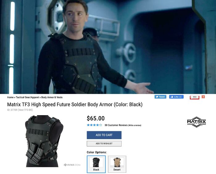 The military crew members in Netflix's Lost in Space (2019) wear foam Airsoft vest.