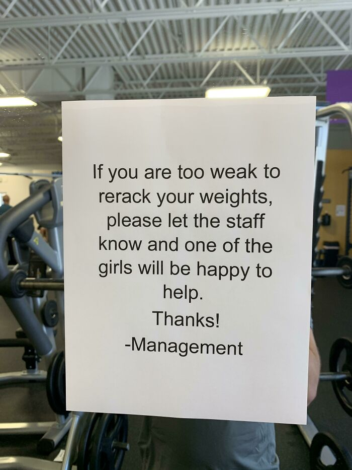 Gym Management. Have Fun With This One