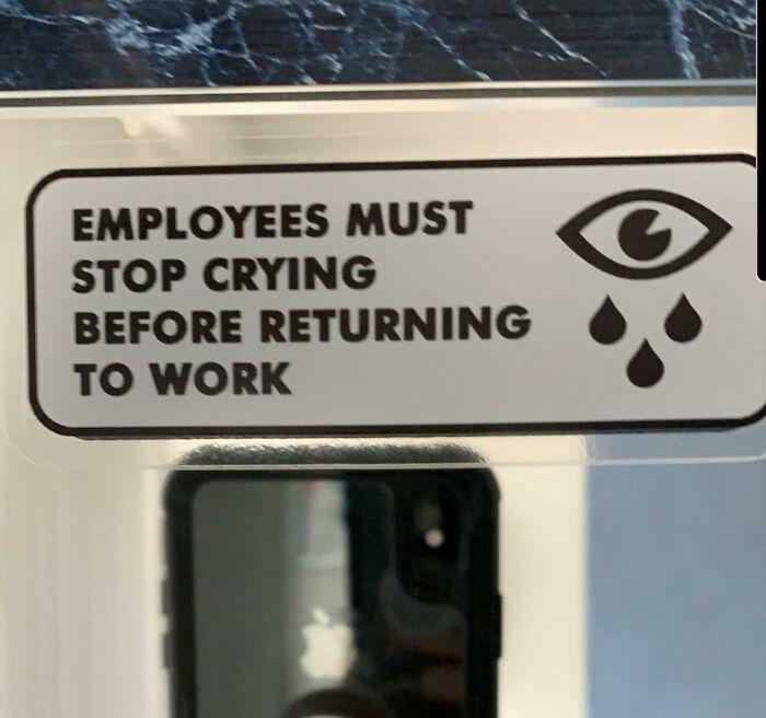 Thanks, Management!
