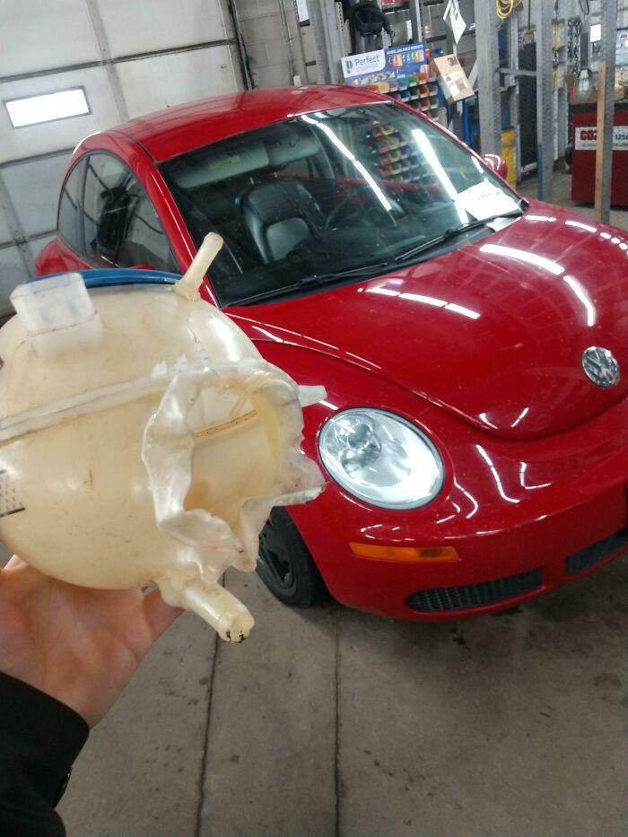 "Customer States Vehicle Has ""Minor Coolant Leak"""