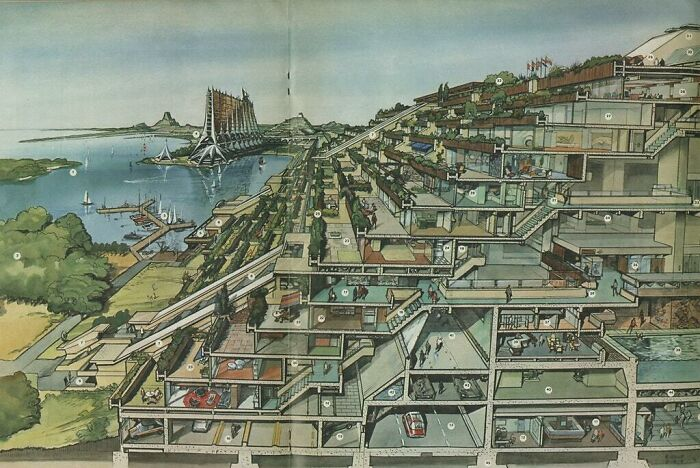 Futuristic Netherlands, Drawn In 1970