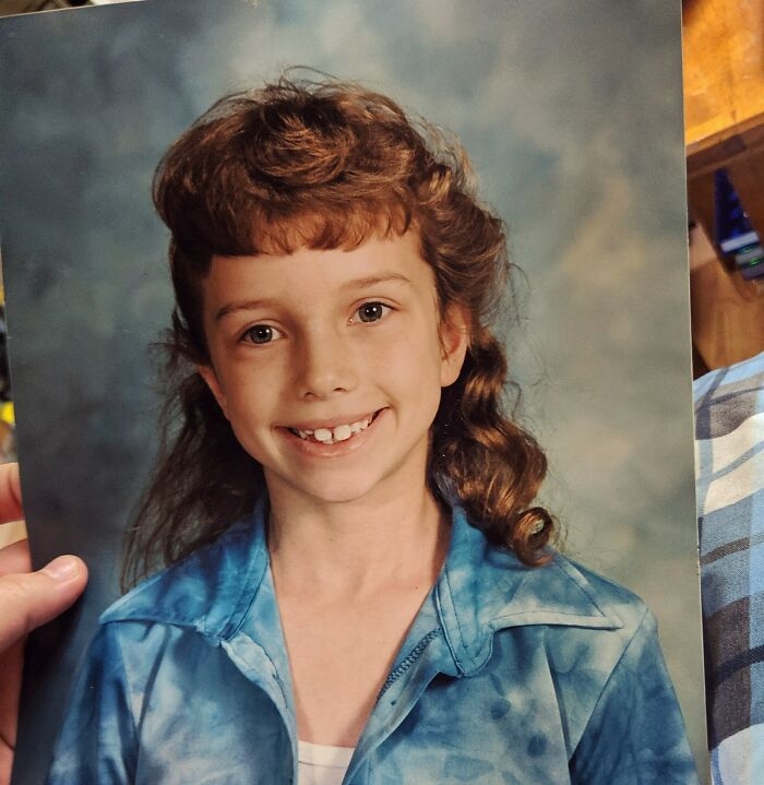 My Mom Cut & Styled My Hair For Picture Day. I Never Let Her Touch My Hair Ever Since