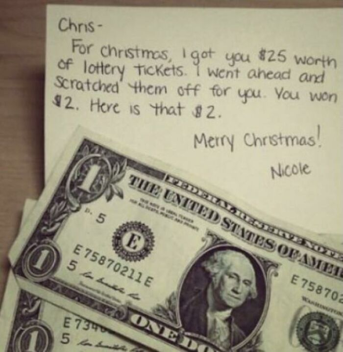 Afraid Those Lottery Tickets You Got For Stocking Stuffers Might Actually Be Winners?