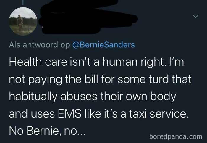 """Healthcare Isn't A Human Right"""