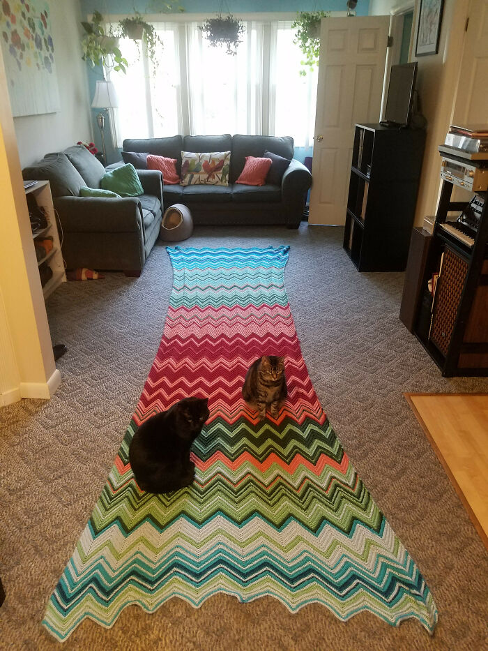 My Wife Made This Blanket That Indicates A Certain Temperature For Every Day Of The Year. 2016 Pennsylvania