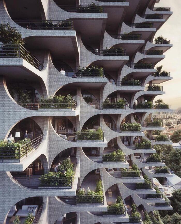 This Apartment Building In Tel Aviv, Israel