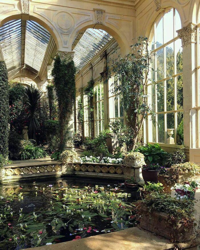 19th Century Italianate Orangery Of The Castle Ashby House, Northamptonshire, East Midlands, England