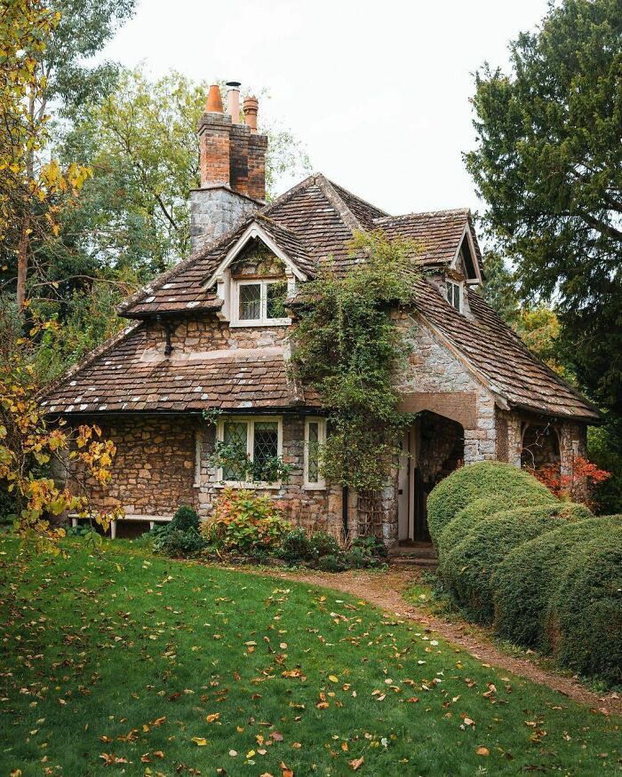 This Stone Cottage In England