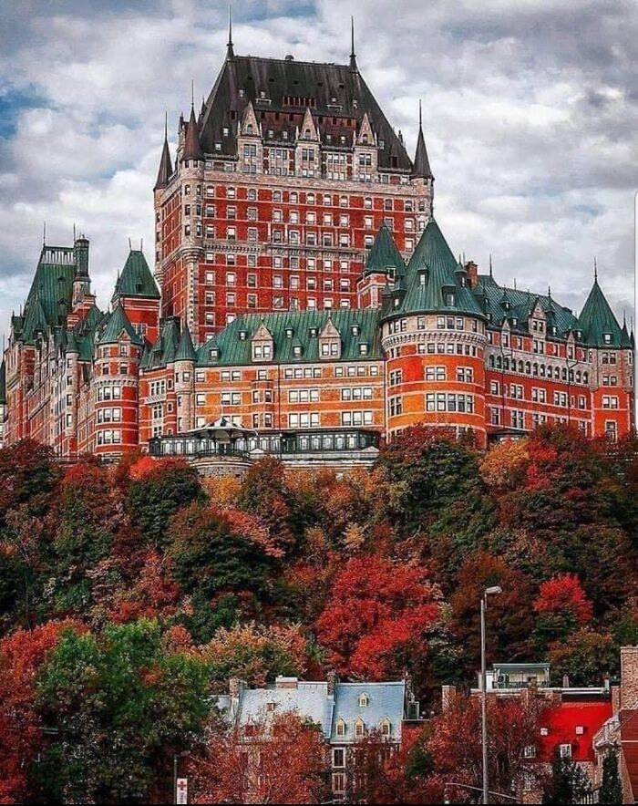 Hotel In The City Of Quebec, Canada