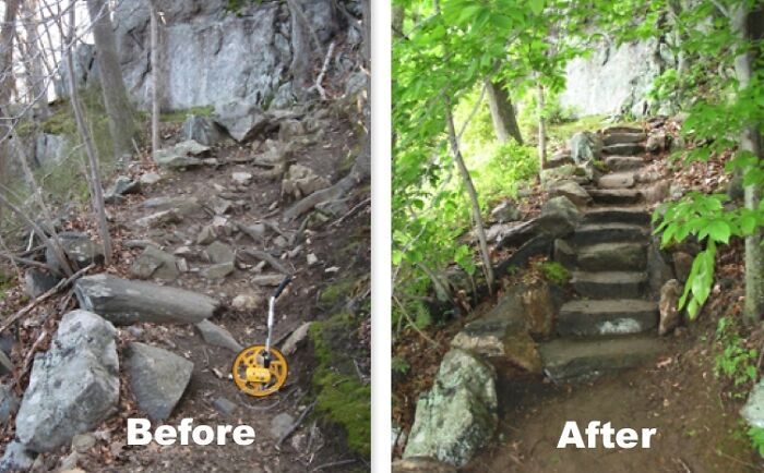 I Run An All-Volunteer Trail Crew That Specializes In Good Old-Fashioned Technical Stonework. Here Is What We Make!