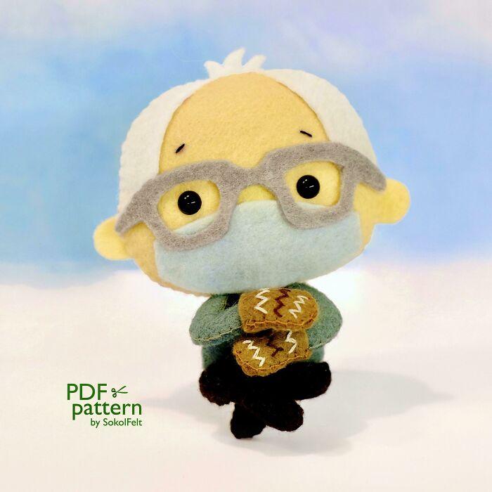 I Made This Cute Bernie Sanders Toy