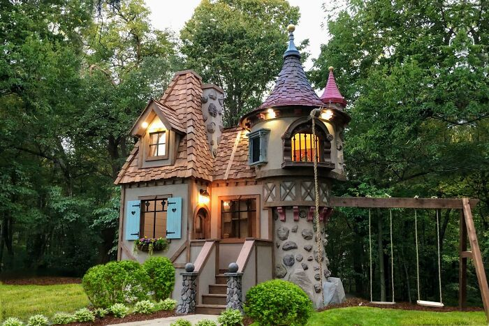 I Built This For A Family In Columbus Oh, But I'm 100% Going To Build A Full Sized One As My House Next