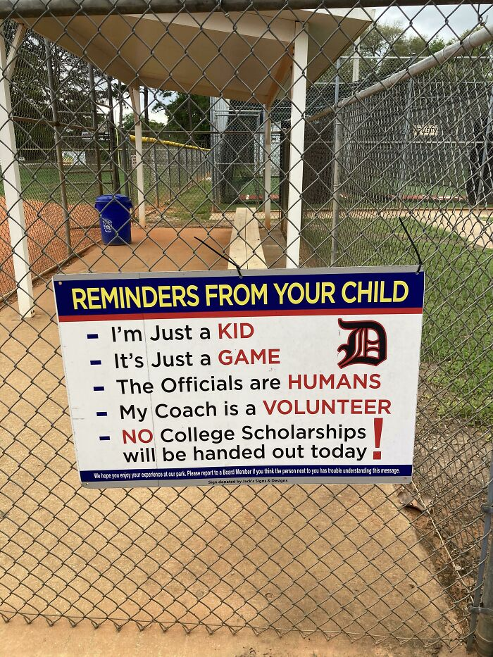 A Reminder For Parents To Not Be Assholes