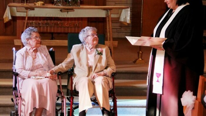 91 Year Old Vivian Boyack Marrying Her Girlfriend Alice Dubes After 72 Years Of Relationship