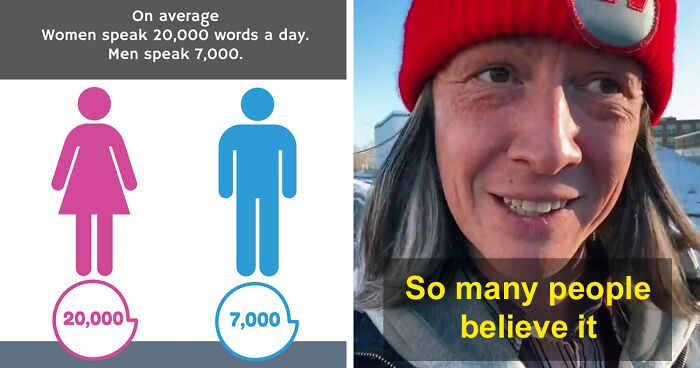 Guy Shatters A Popular Myth That Women Speak More Words Per Day Than Men, Explains How It Was Created