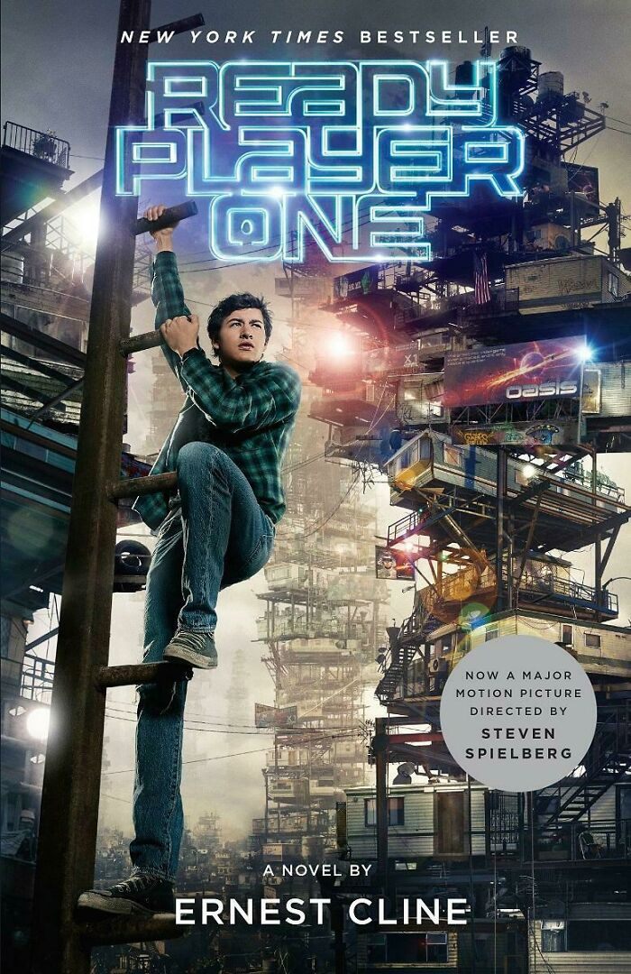 His Leg On Ready Player One's Cover