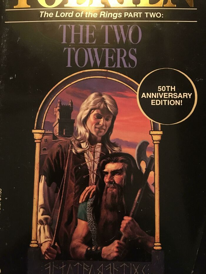 The 50th Edition Lotr Covers Are Something Else...