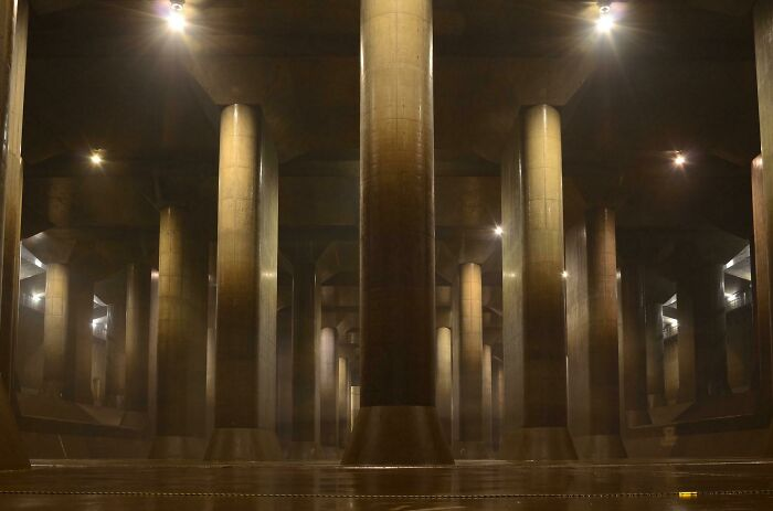 The Massive Underground Cathedral Protecting Tokyo From Floods (This Isn't A 3D Render)