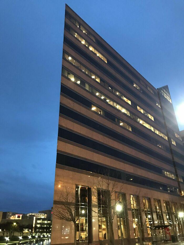 Half-Rendered Building