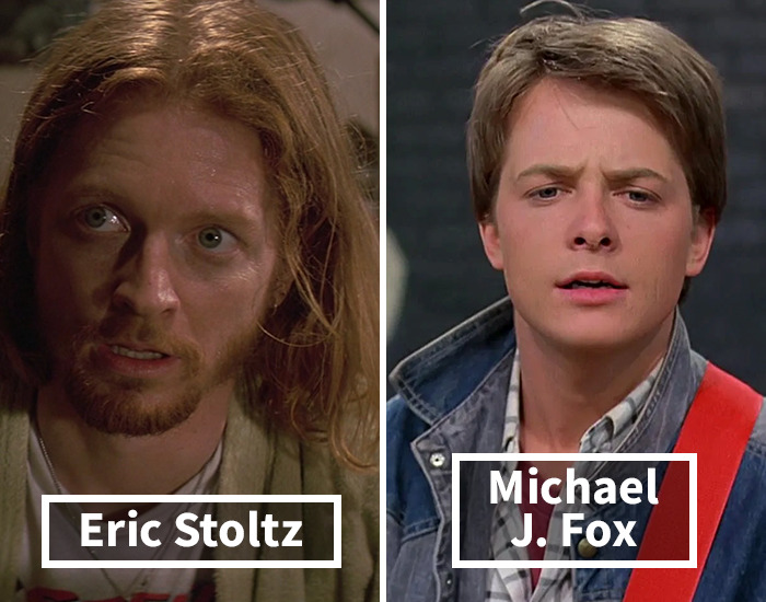 Eric Stoltz Was Replaced By Michael J. Fox In Back To The Future
