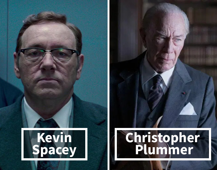 Kevin Spacey Was Replaced By Christopher Plummer In All The Money In The World