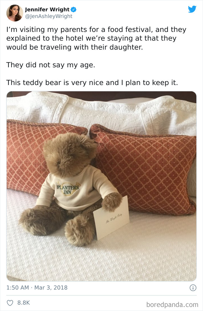 Awesome Hotel Gesture
