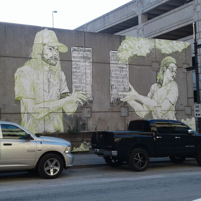 Mural In Downtown Atlanta