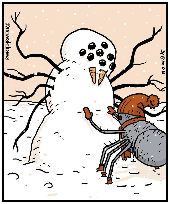 40 Absurd Comics By Joseph Nowak