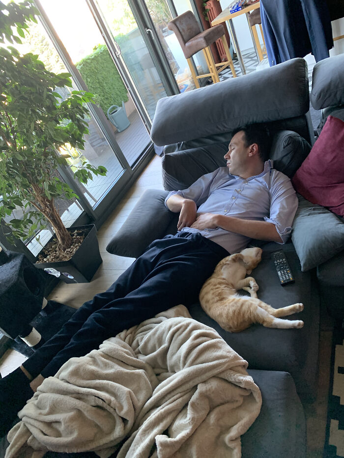Nap Time With Dad