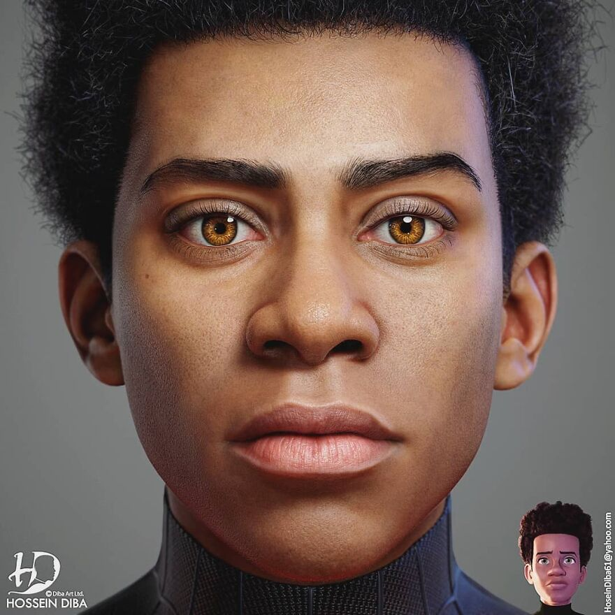 Miles Morales From Spider-Man: Into The Spider-Verse