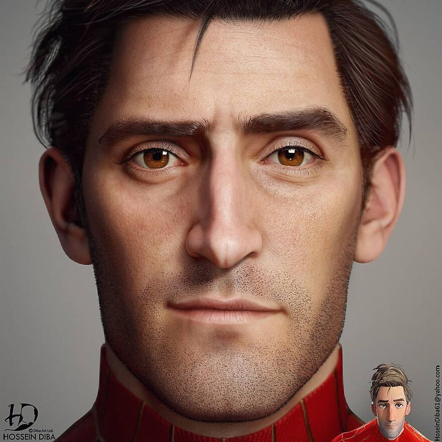 Peter Parker From Spider-Man: Into The Spider-Verse