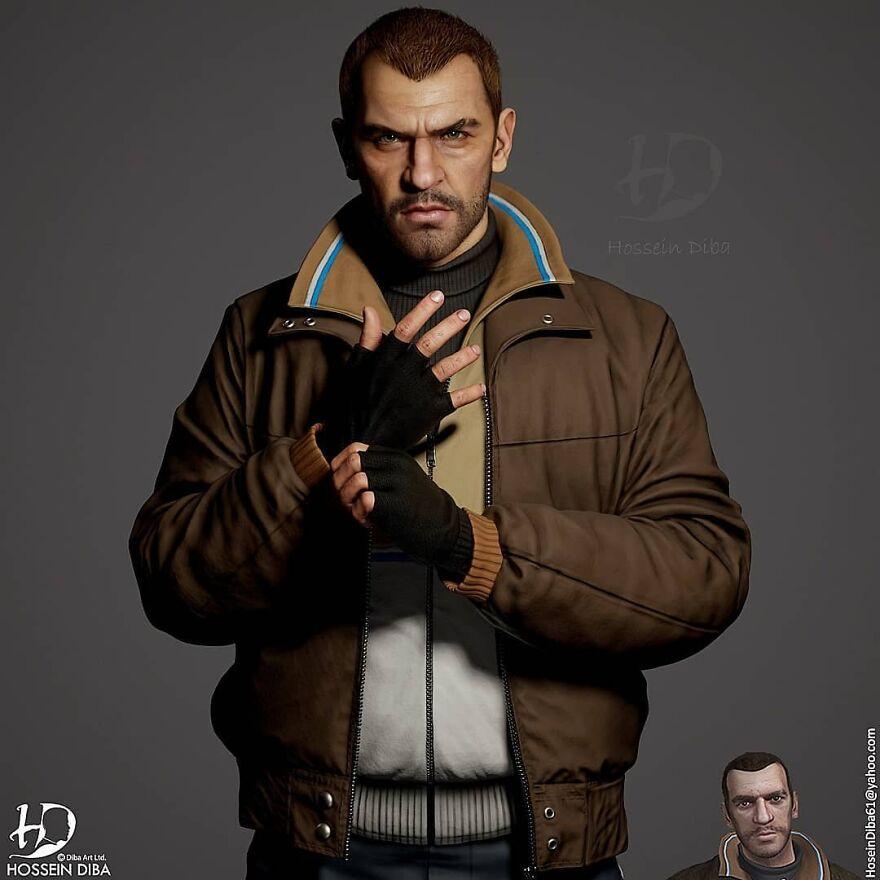 Niko Bellic From GTA IV