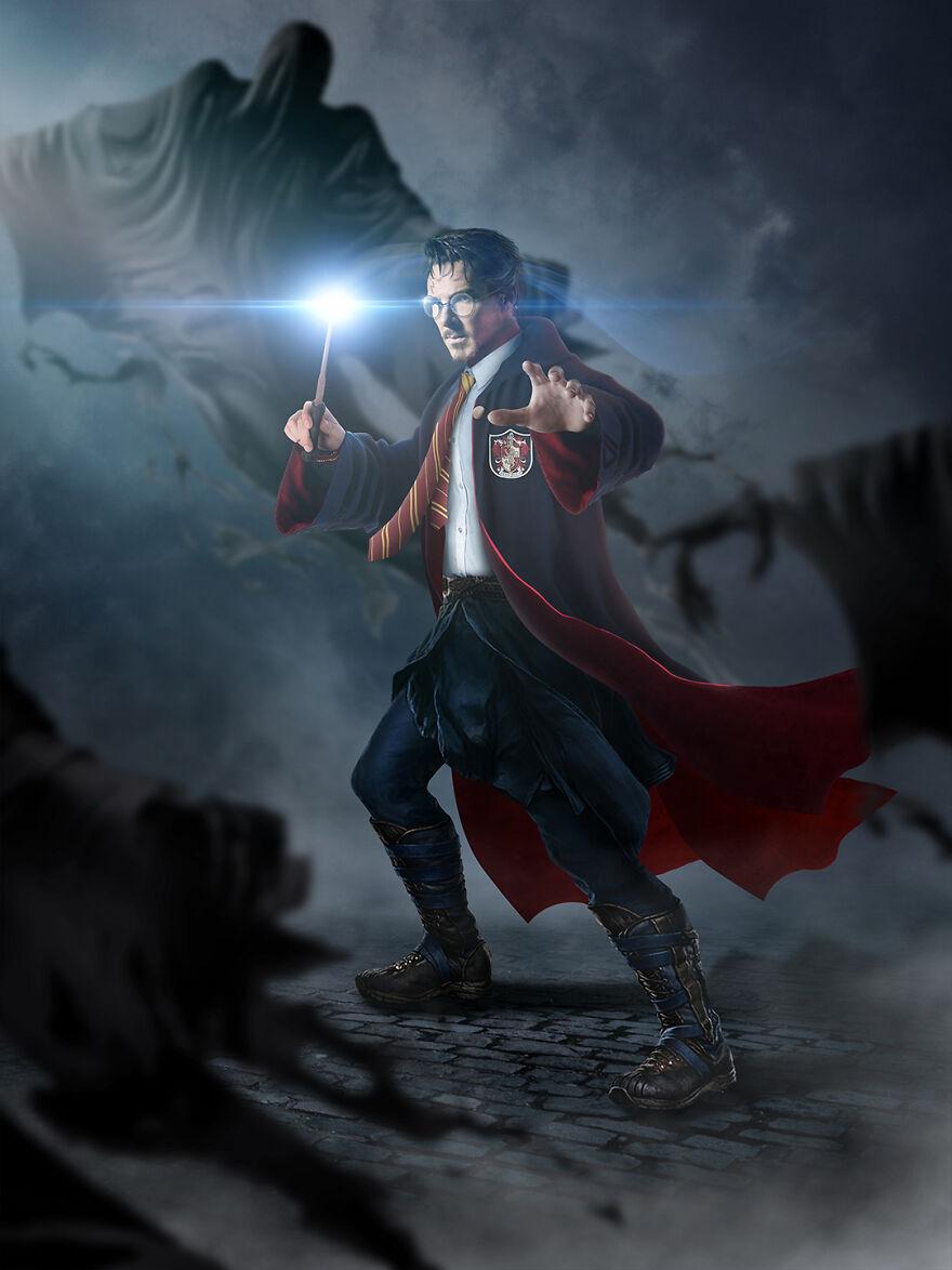 Doctor Strange And Harry Potter